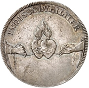 ¼ Thaler - Friedrich August I. (Marriage) – revers