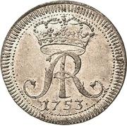 1/24 Thaler - Friedrich August II. – avers