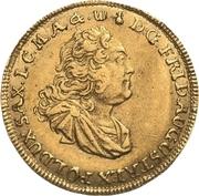 1 Ducat - Friedrich August II. – avers
