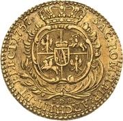 1 Ducat - Friedrich August II. – revers