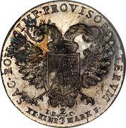 ⅔ Thaler - Friedrich August III – revers