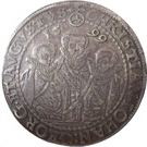 1 Thaler - (Christian II, Johann-Georg et Auguste - Le thaler des 3 frères) – avers