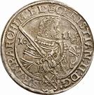 1 Thaler - Christian II, Johann Georg I, & August – avers