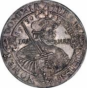 1 Thaler - Johann Georg I – revers