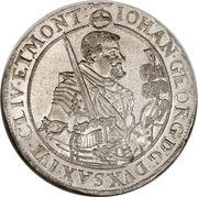 1 Thaler - Johann Georg I – avers