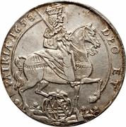 1 Thaler - Johann Georg II – avers
