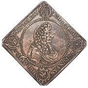 1 Thaler - Johann Georg II (Festival de tir à Dresde) – avers