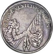 1 Thaler - Johann Georg III (Mort) – revers