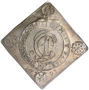 1 Thaler - Johann Georg IV (Ordre de la Jarretière) – avers