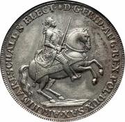 1 Thaler - Friedrich August II (vicariat) – avers