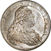 1 Thaler - Friedrich August I (Occupation prussienne) – avers