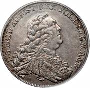 1 Conventionsthaler - Friedrich August II – avers