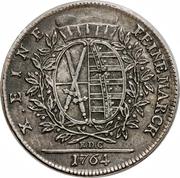 1 Thaler - Friedrich August III – revers