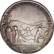 1 Thaler - Friedrich August III (École des mines de Freiberg) – revers