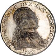 1 Thaler - Friedrich August III – avers