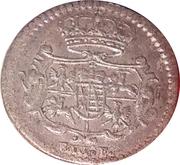 3 pfennig Friedrich August II – avers