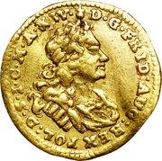 ½ ducat Friedrich August I – avers