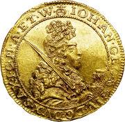1 ducat Johann Georg IV – avers