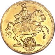 1 Ducat - Friedrich August I – avers