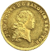 1 Ducat - Friedrich August III – avers