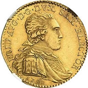 1 ducat Frédéric Auguste III – avers