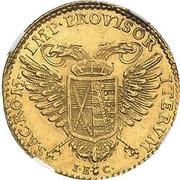 1 ducat Frédéric Auguste III – revers