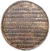 4 thaler Johann Georg II (Mort) – revers