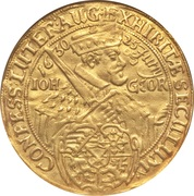 6 Ducat - Johan Georg (Centennial of the Augsburg Confession) – avers