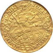 6 Ducat - Johan Georg (Centennial of the Augsburg Confession) – revers