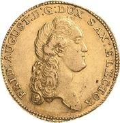 10 Thaler - Friedrich August III – avers