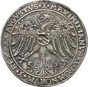 1 Guldengroschen - Friedrich III. – revers
