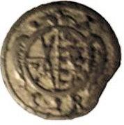 1 pfennig Johann Georg II – avers