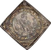 1 Thaler - Johann Georg I. (Klippe; Baptism) – avers