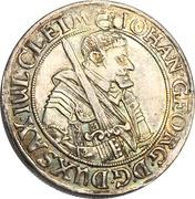 ¼ Thaler - Johann Georg I. – avers