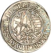 ¼ Thaler - Johann Georg I. – revers