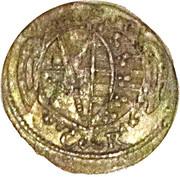 1 pfennig Johann Georg I – avers
