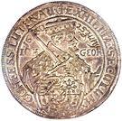 2 Thaler - Johann Georg I (Confession d'Augsbourg) – avers