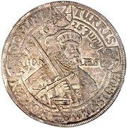 2 Thaler - Johann Georg I (Confession d'Augsbourg) – revers