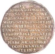 2 Thaler - Johann Georg II – revers