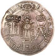 2 Thaler - Johann Georg II (Chapelle de Moritzburg) – avers