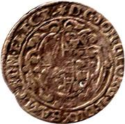 1/24 Thaler (Duché de Saxe) – avers