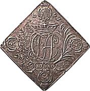 1 Thaler - Friedrich August I. (Klippe; shooting thaler) – avers