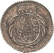 1 Heller - Friedrich August III – avers