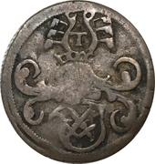 1 Dreier - Johann Friedrich I and Georg – avers