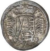 1 Dreier - Johann Georg III – avers