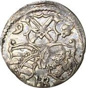 1 Dreier - Christian II, Johann Georg I and August – avers
