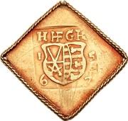 1 Ducat - Johann Friedrich II. (Siege coinage) – avers