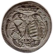 3 Pfennig - Johann Georg IV – avers