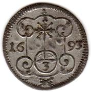 3 Pfennig - Johann Georg IV – revers