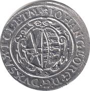 1/24 thaler Johann Georg I – avers